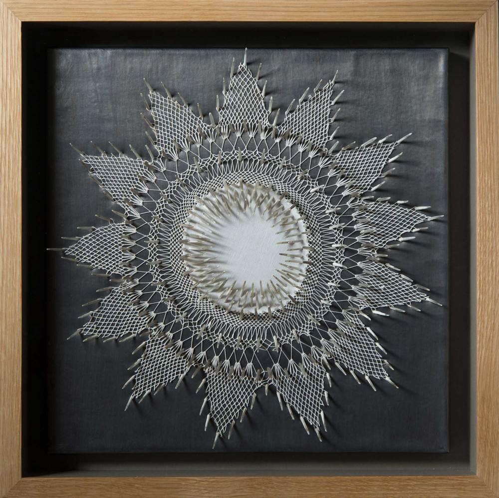 White Lies (Innocuous), 44 x 44 x 9cm
