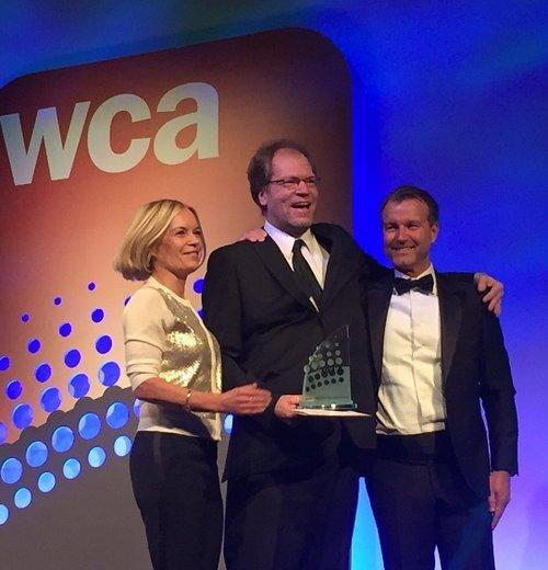 Cloudstreet CTO Mika Skarp Accepts WCA Award