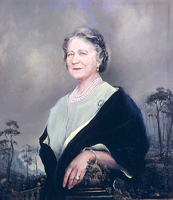 Her Majesty Queen Elizabeth The Queen Mother Colonel in Chief The Black Watch