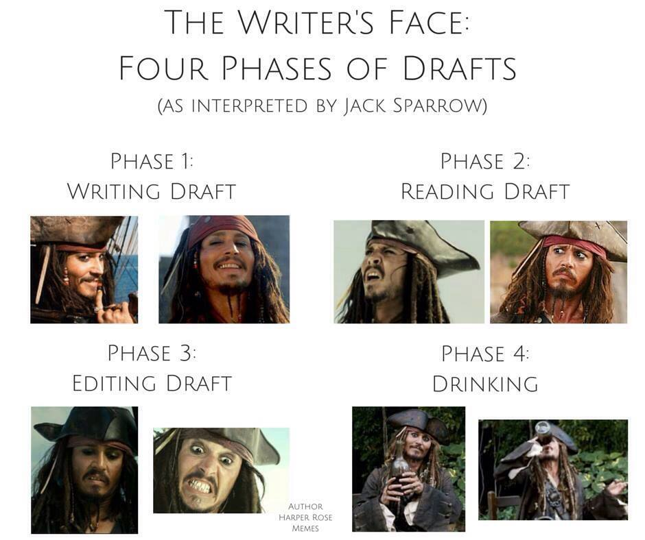 Writer's Face