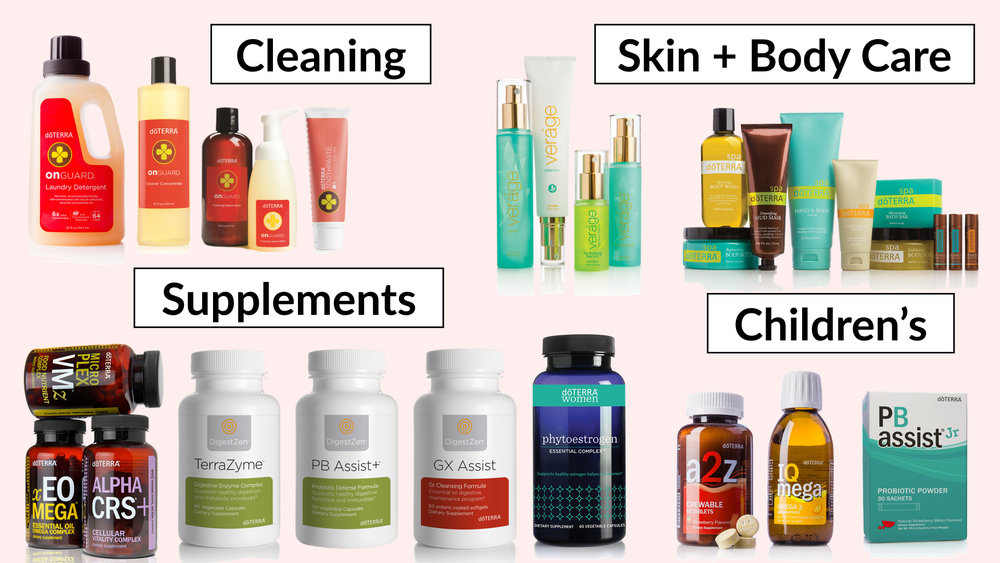 doTERRA's products for holistic nutritionists and health coaches