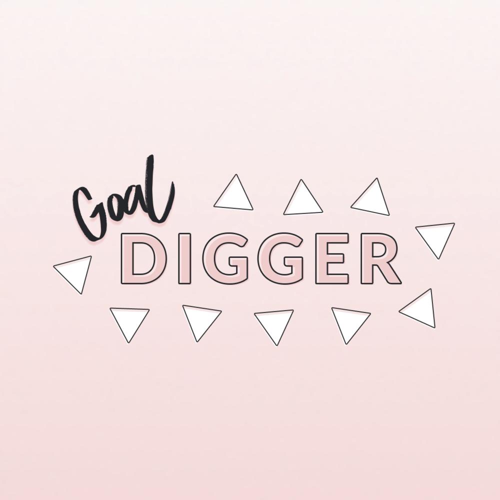 Free printable goal digger