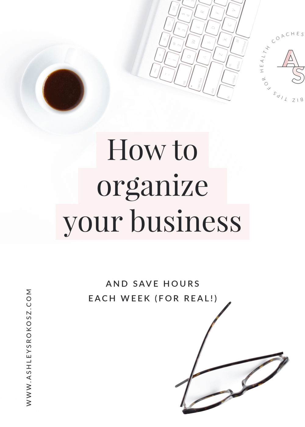 "Are you a nutritionist or holistic health coach who feels totally disorganized or like your week is eaten up with admin tasks, email, and ""busy work""? Wait, there's a way to organize your business to save you 5-10 hours each week (no joke!)! Click here to learn how to organize your business to save time so you can work on the big projects that'll actually grow your business. #healthcoach #healthcoachbusiness #nutritionist #nutritionbusiness #becomeahealthcoach #yogateacher #naturopath"