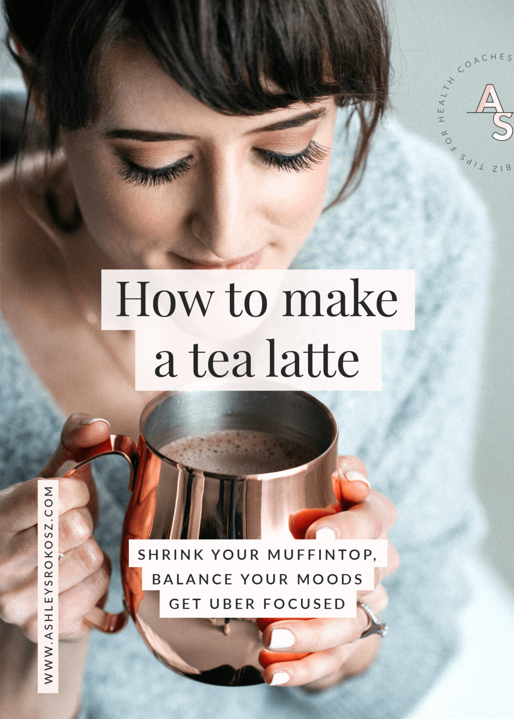 Tired of feeling tired all day? Want a quick breakfast that'll shrink your muffin top? Then why not try butter tea! Click here to learn how to make a tea latte that'll balance your hormones and moods, and help you stay focused. Busy mom approved! #tealatte #tealatterecipe #tealattehowtomakea #tealattealmondmilk