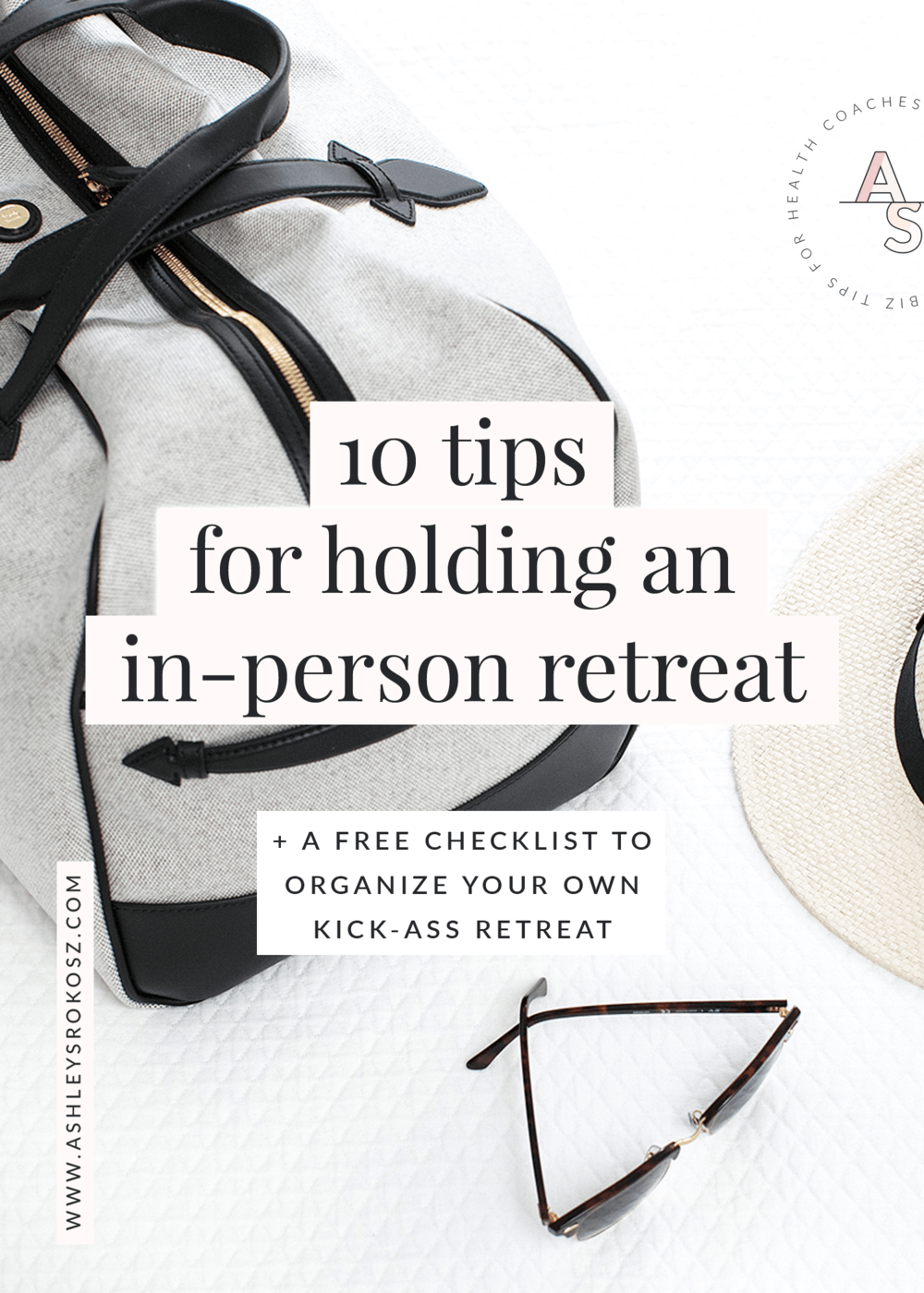 "Do you have dreams of organizing an in-person retreat for your customers or team? Click here to the top 10 tips for holding an in-person retreat PLUS a free ""Prep for Your Retreat"" checklist! #healthcoach #nutritionist #yogaretreat #customerretention #yogaretreatideas"