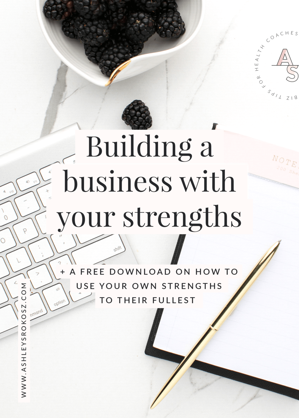 "Are you tired of building your business like everyone else, only to end up stressed out and it's still not working? Click here learn how you can build a business with YOUR unique strengths so you have more ease and less stress PLUS a free Build a Business with Your Strengths""! #healthcoach #healthcoachbusiness #nutritionist #nutritionbusiness #becomeahealthcoach #yogateacher #naturopath"