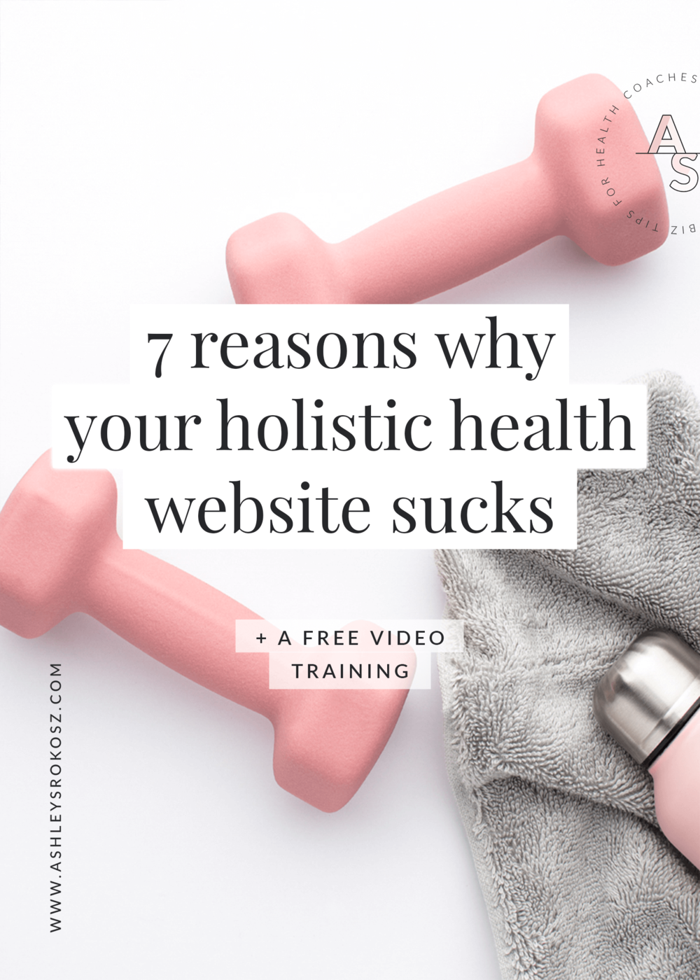 Is your holistic health website finding you paying clients? Because it should be! Click here to find out 7 reasons why your holistic health website sucks and how you can fix them. Plus there's a free video training showing you how you can use your website to find paying clients as a holistic health coach, nutritionist, yoga teacher, essential oil advocate, chiropractor, or naturopath!