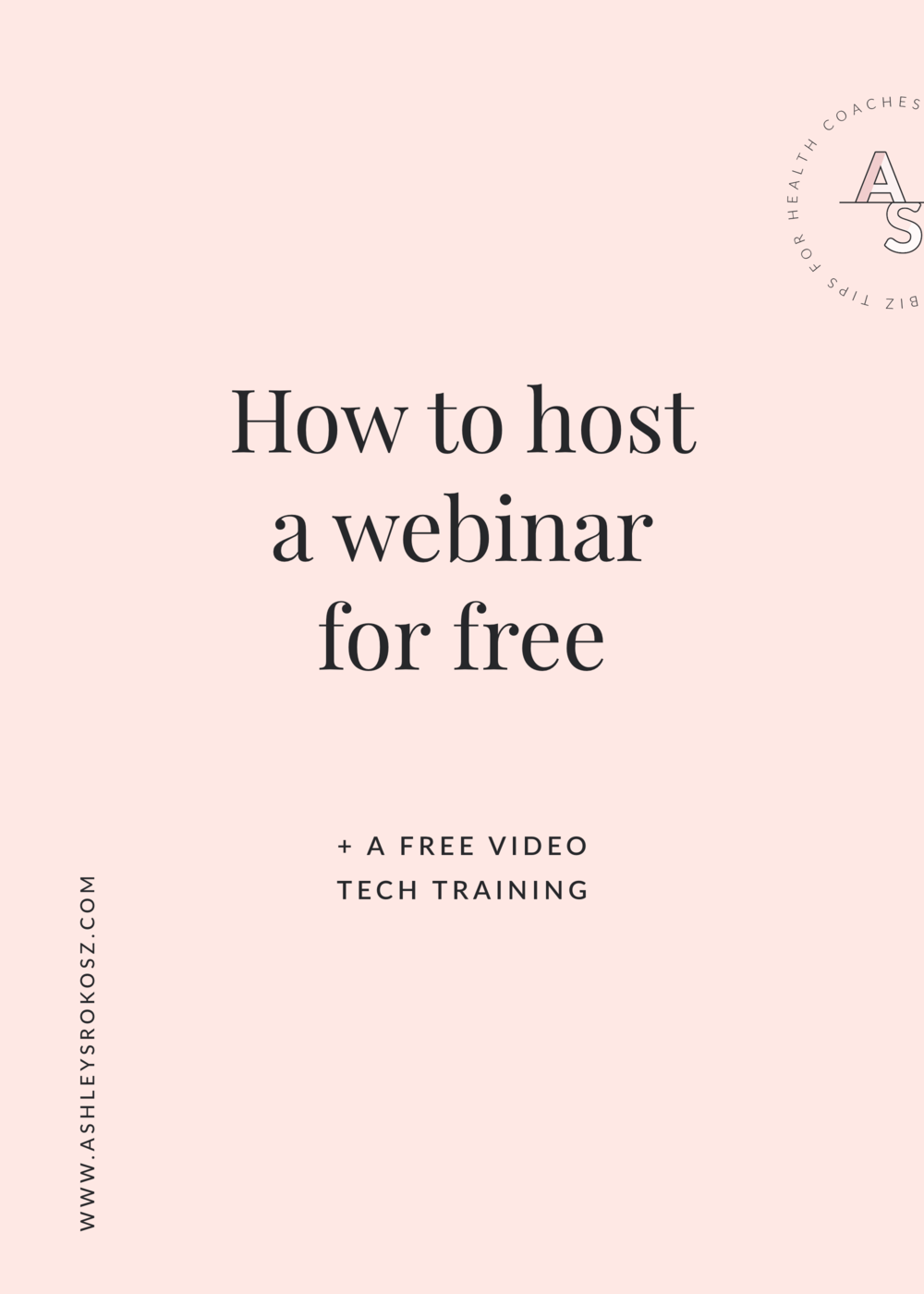 Are you a holistic nutritionist, health coach, yoga teacher, or essential oil advocate who wants to start using webinars to grow your business ... but have no idea how? Click here to learn how to host a webinar for free PLUS some free video tech training to get you over your tech fears. Webinars can grow your email and client lists super fast and help you spread your mission farther than you ever thought possible!