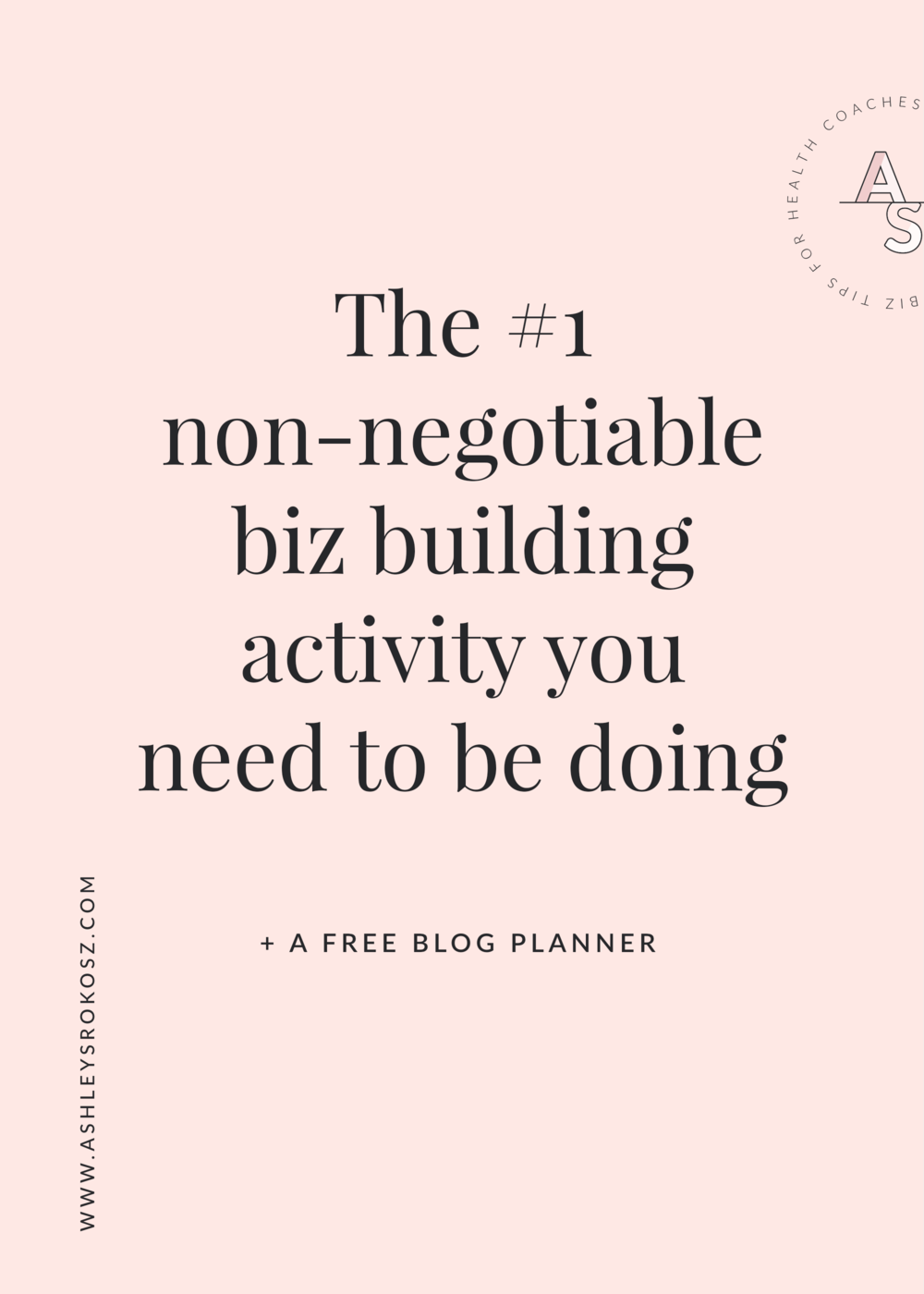 Are you a holistic nutritionist, essential oil advocate, or yoga teacher who blogs? You should be! Click to read why blogging is the #1 non-negotiable biz building activity you need to be doing as a holistic business owner PLUS a free blog post planner with an entire years' worth of blog post topic ideas!