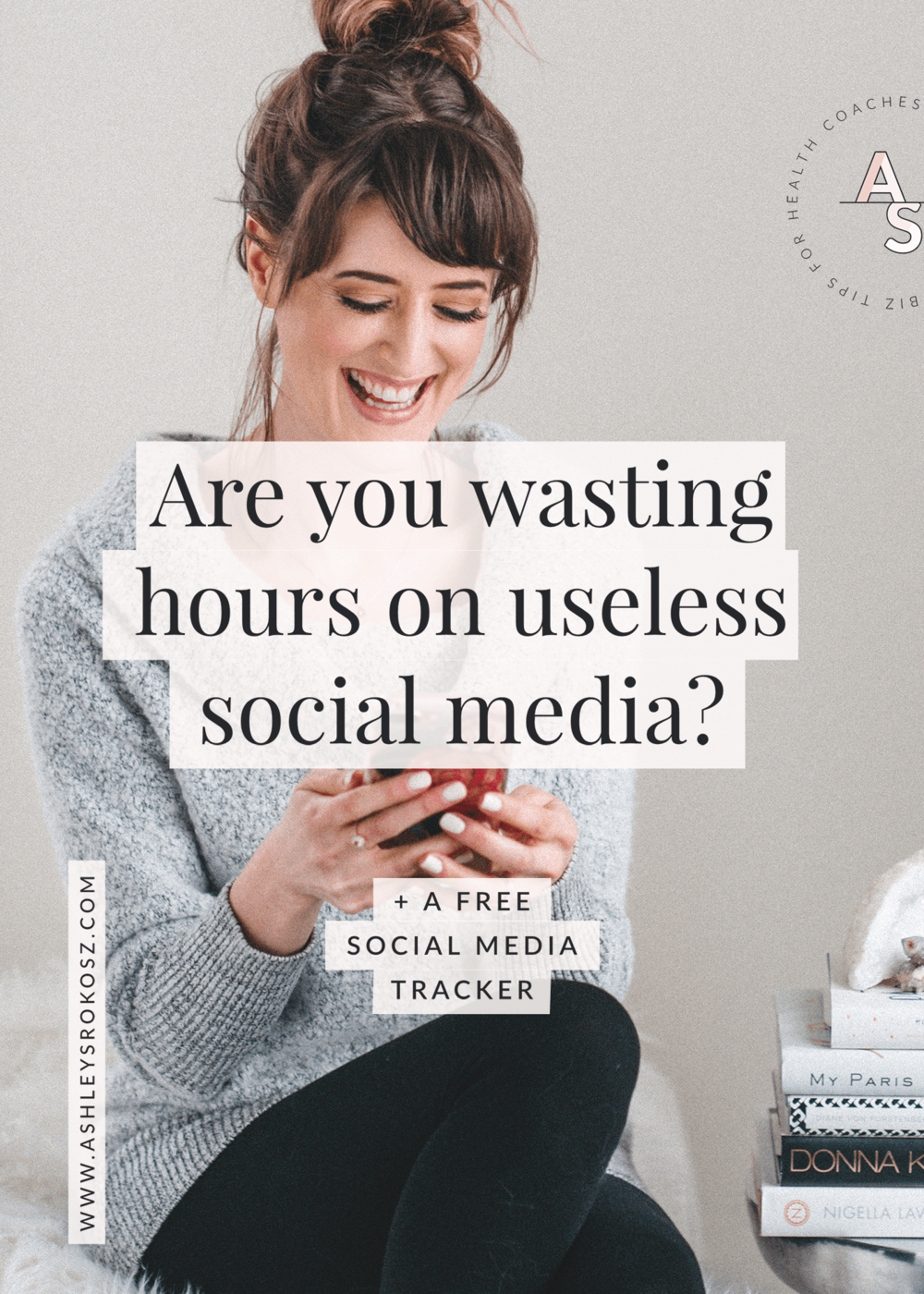 Are you a holistic health business owner who is on social media? Click here for a step-by-step tutorial to figure out if you're even on the right platform (including screenshots), which ones you should focus on PLUS a free social media tracker! This is perfect for holistic nutritionists, health coaches, or yoga teachers.