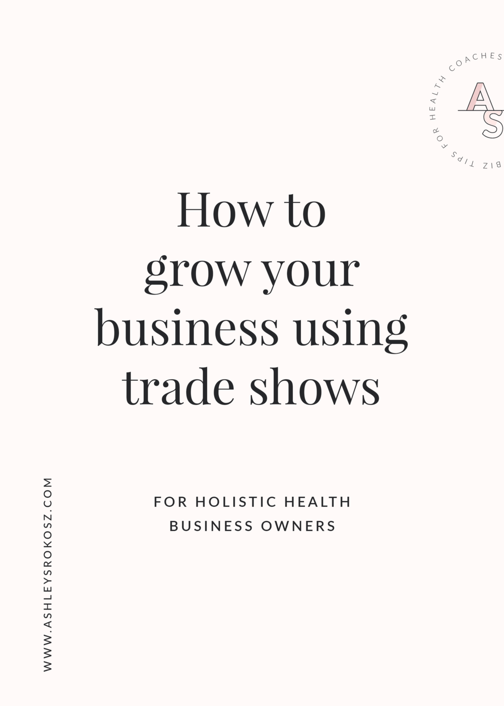 Are you a holistic nutritionist, essential oil advocate, or yoga teacher who does trade shows? Build your business with trade shows and expos faster with these 9 tips! Don't make the mistakes like I did in my first few years of business