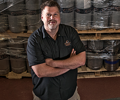 Kent Bailey, President Kent is a former business attorney who discovered the meaning of life while sipping homebrew in a parking lot. When not at the brewery Kent often can be found brushing his daughter's hair or carrying his wife's purse.