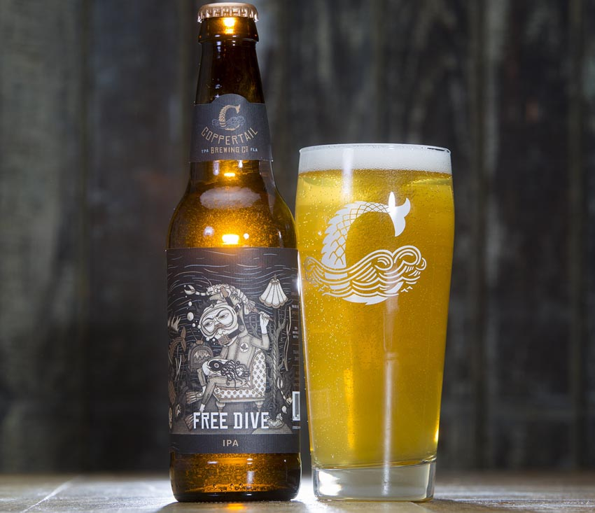 Submerse Yourself - Our best seller and favorite among people who enjoy IPAs that finish on the dry side.