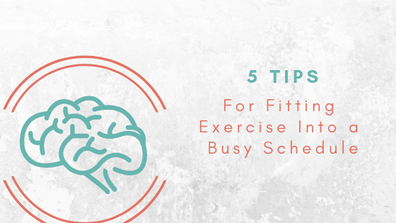 how to stay active with a busy schedule