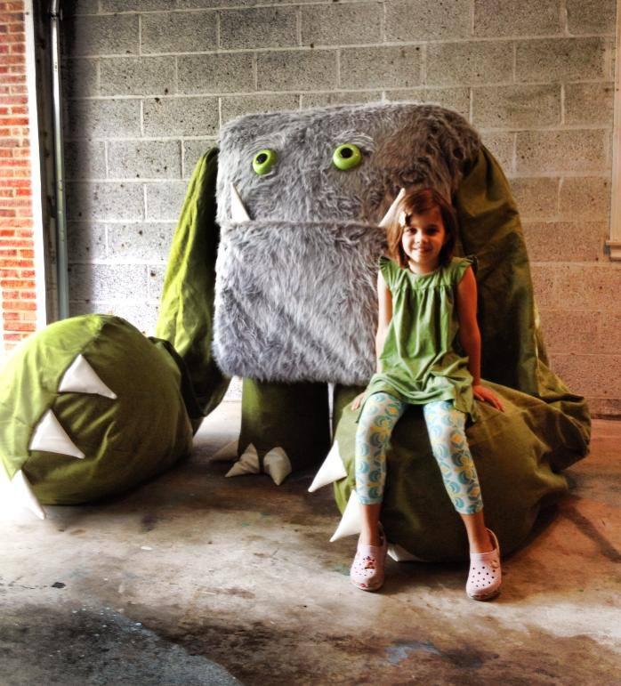 Stompy McThumperton, Cincinnati Maker Faire's favorite guest
