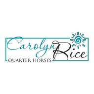 Carolyn Rice Quarter Horses