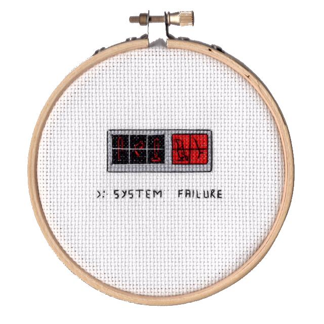 >: SYSTEM FAILURE