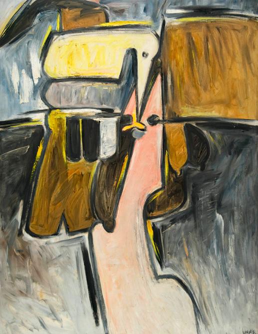 Cabeza en amaraillo, 1976