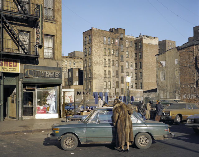 """Houston Street, 1980"" from the series Time and Space on the Lower East Side 1980 + 2010"