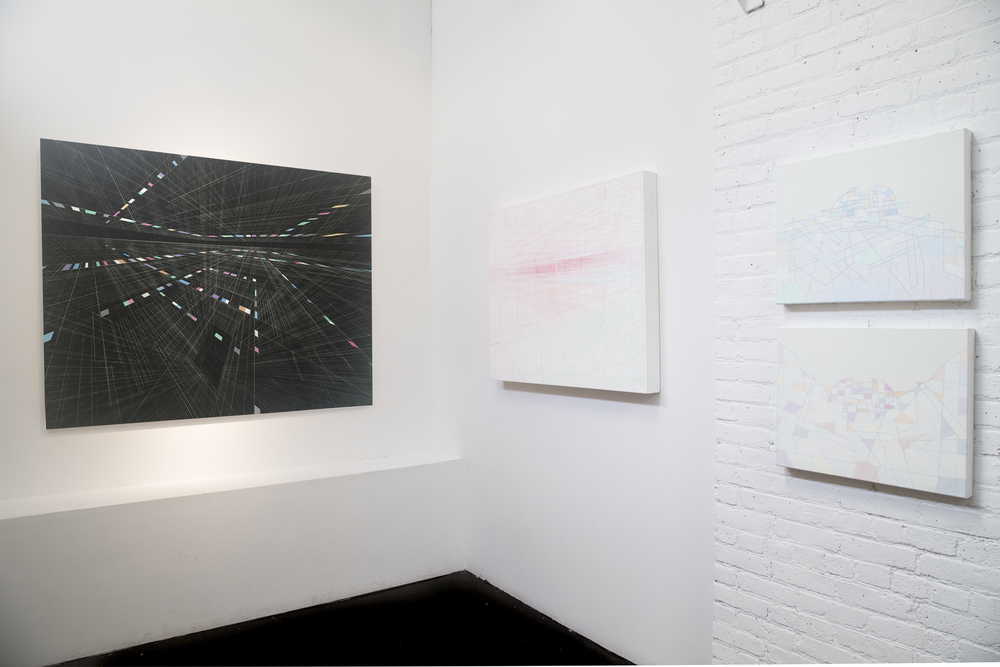 """Steven MacIver: Linear Landscapes"" at Dillon Gallery, 2015"