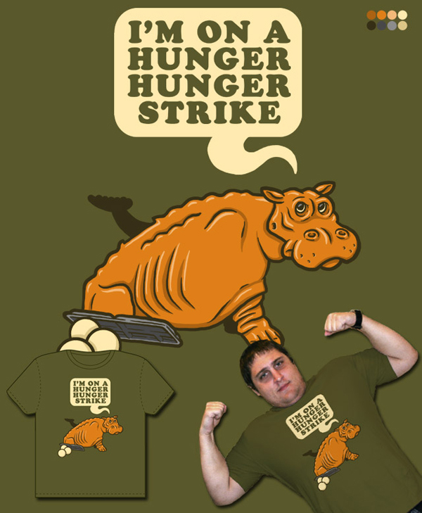Hunger Hunger Hippo Threadless Blog
