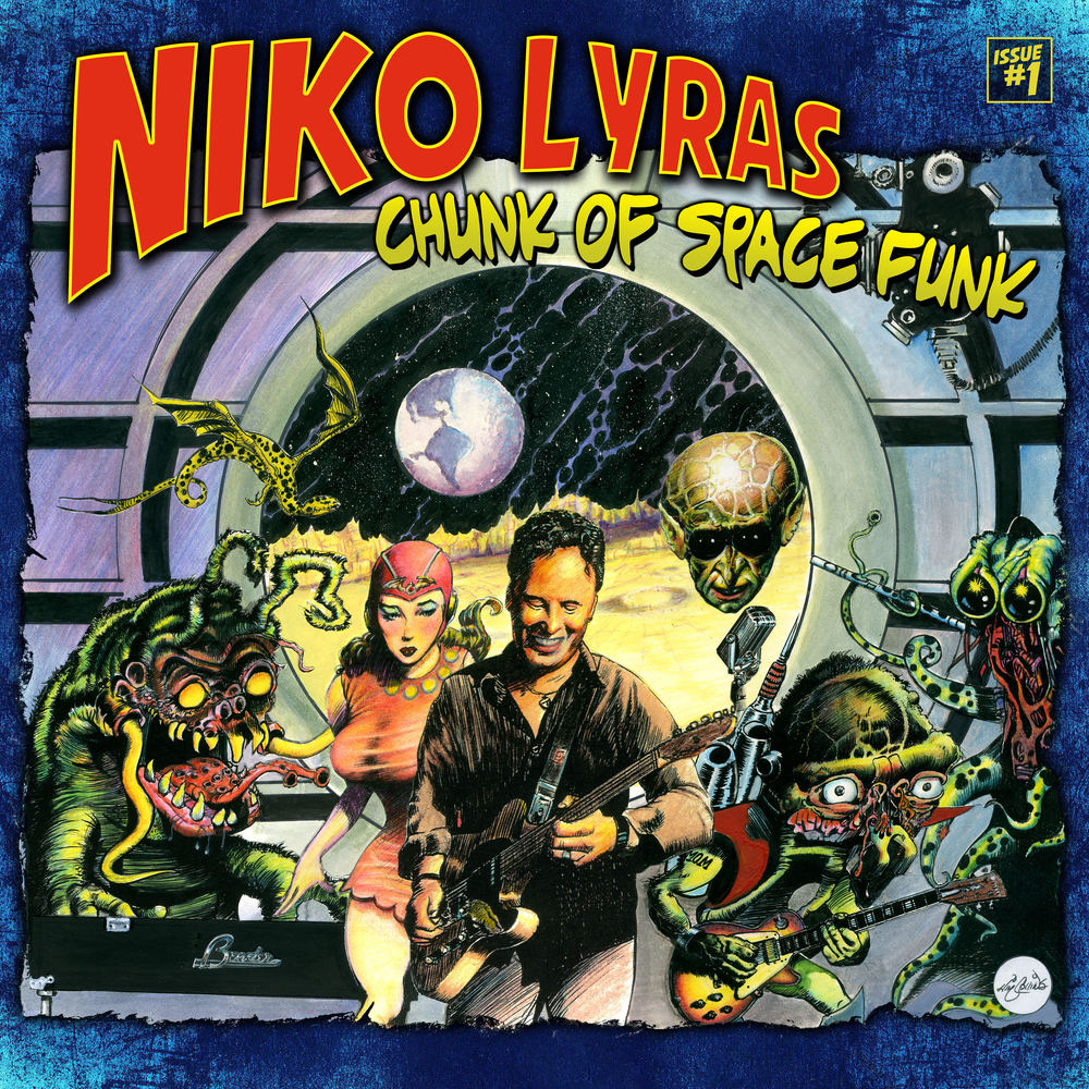 Niko Lyras / Chunk Of Space Funk: Drums - 2016