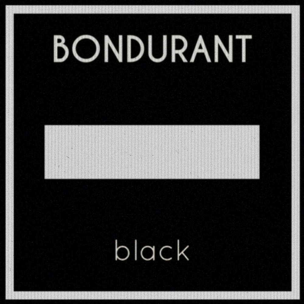 BONDURANT / black: Drums - 2016