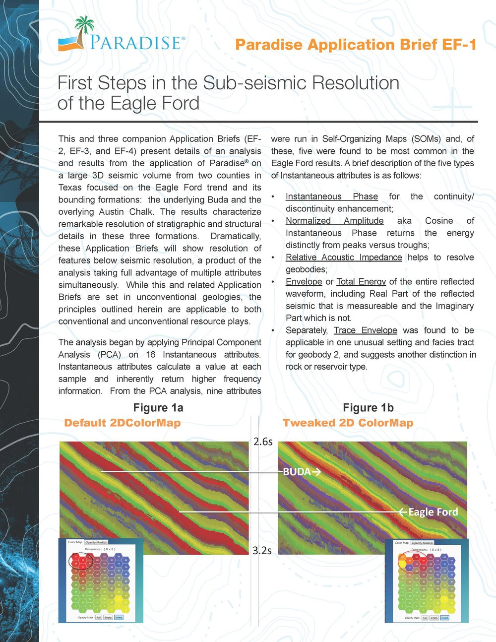 Using machine learning to analyze 5 instantaneous attributes helped reveal unique Eagle Ford facies