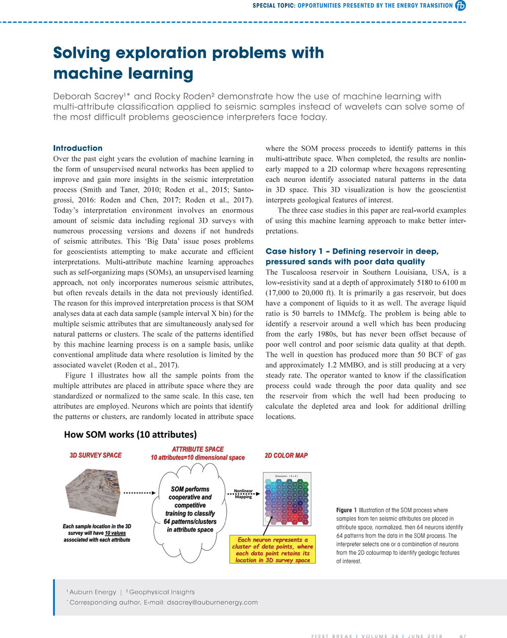 Solving Exploration Problems with Machine Learning by Deborah Sacrey and Rocky Roden
