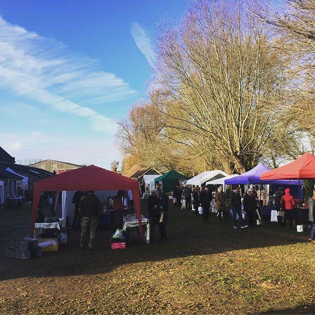 Christmas Market time at Creake Abbey