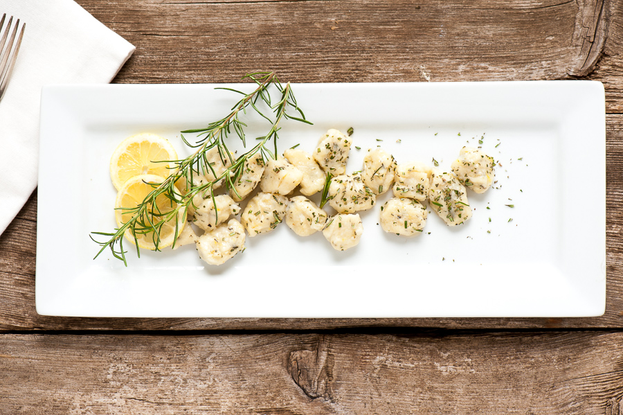 Lemon Rosemary Gnocchi