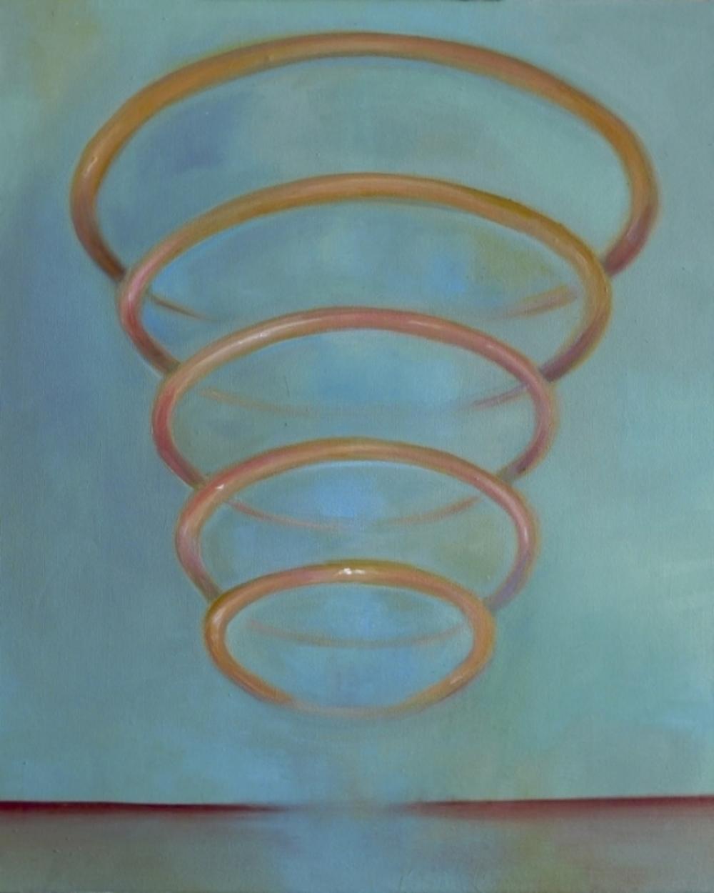 Thin Air Oil on Canvas 55 x 45 cm 2015