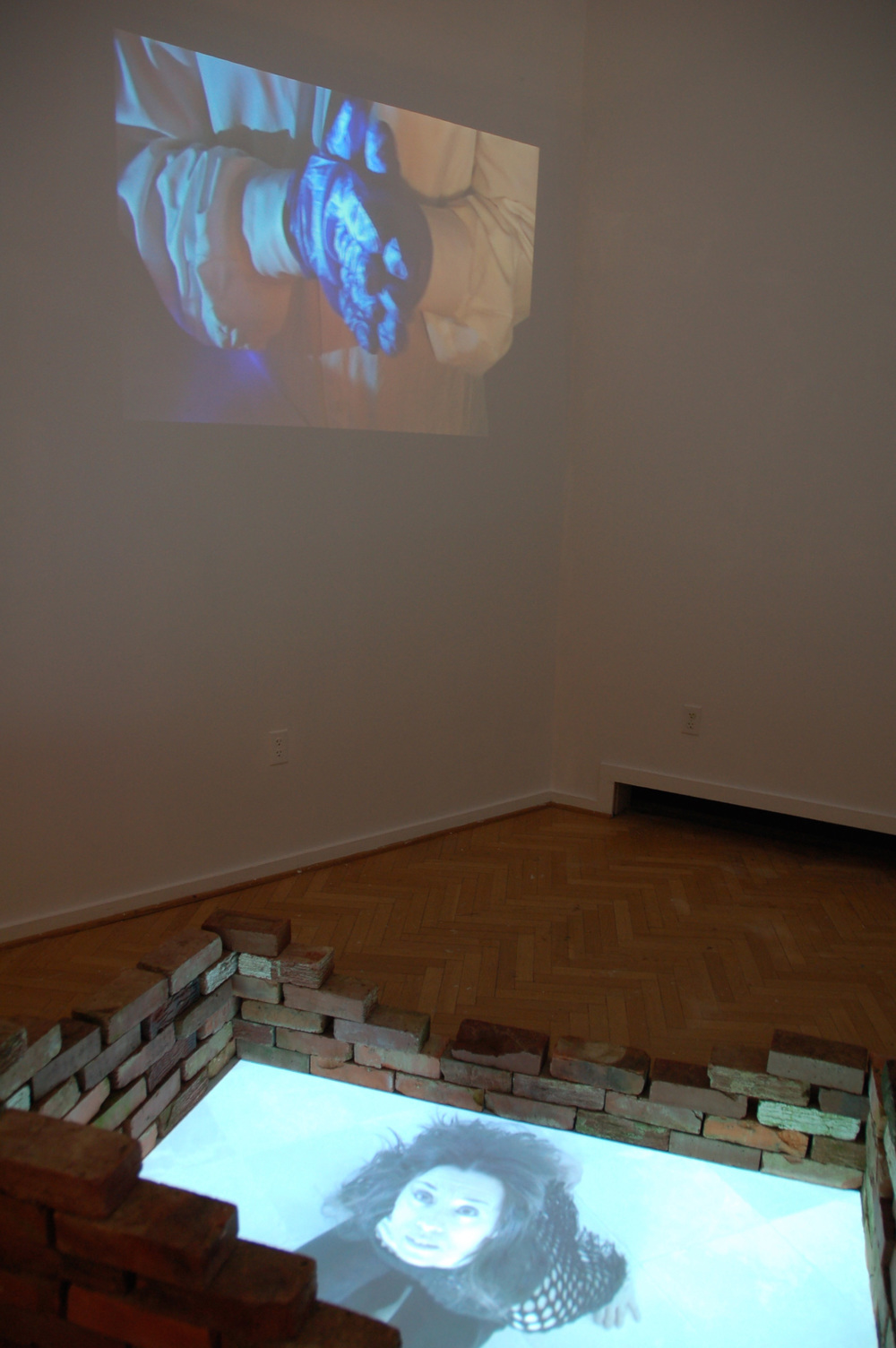 Aseptic Profile Video Installation 2010