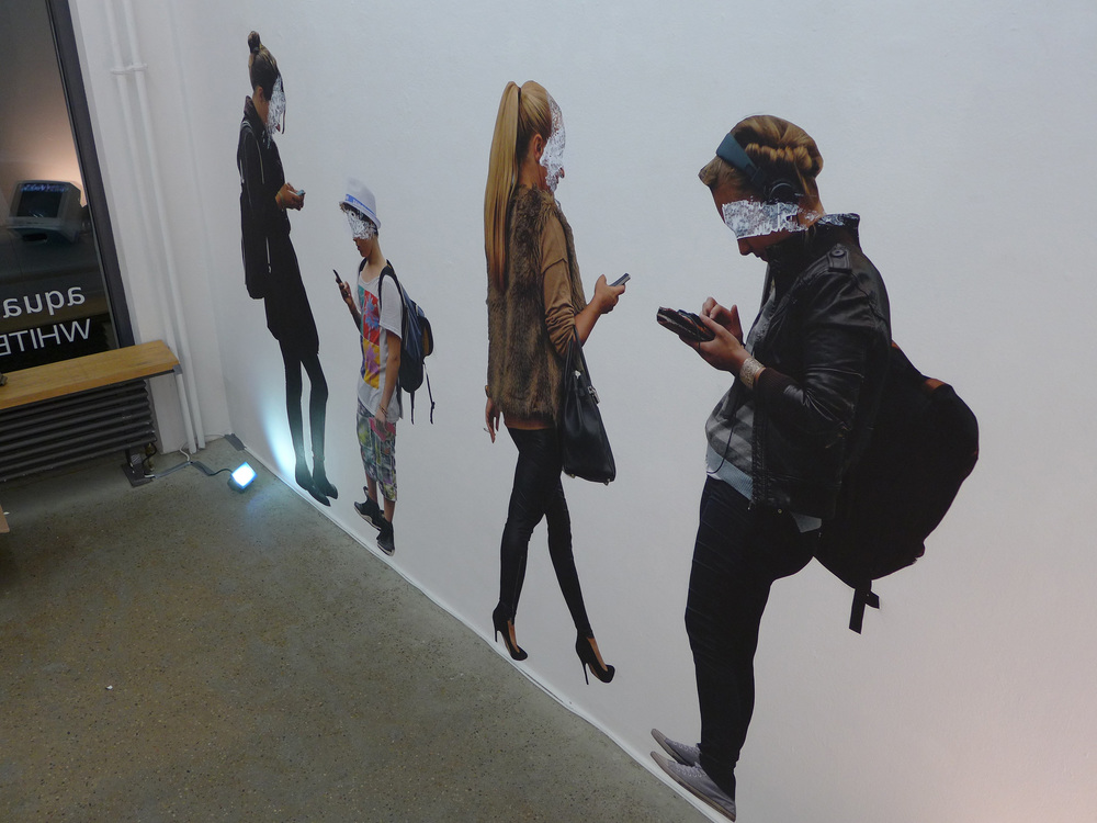 Mirage of Presence Multimedia Installation Berlin 2014