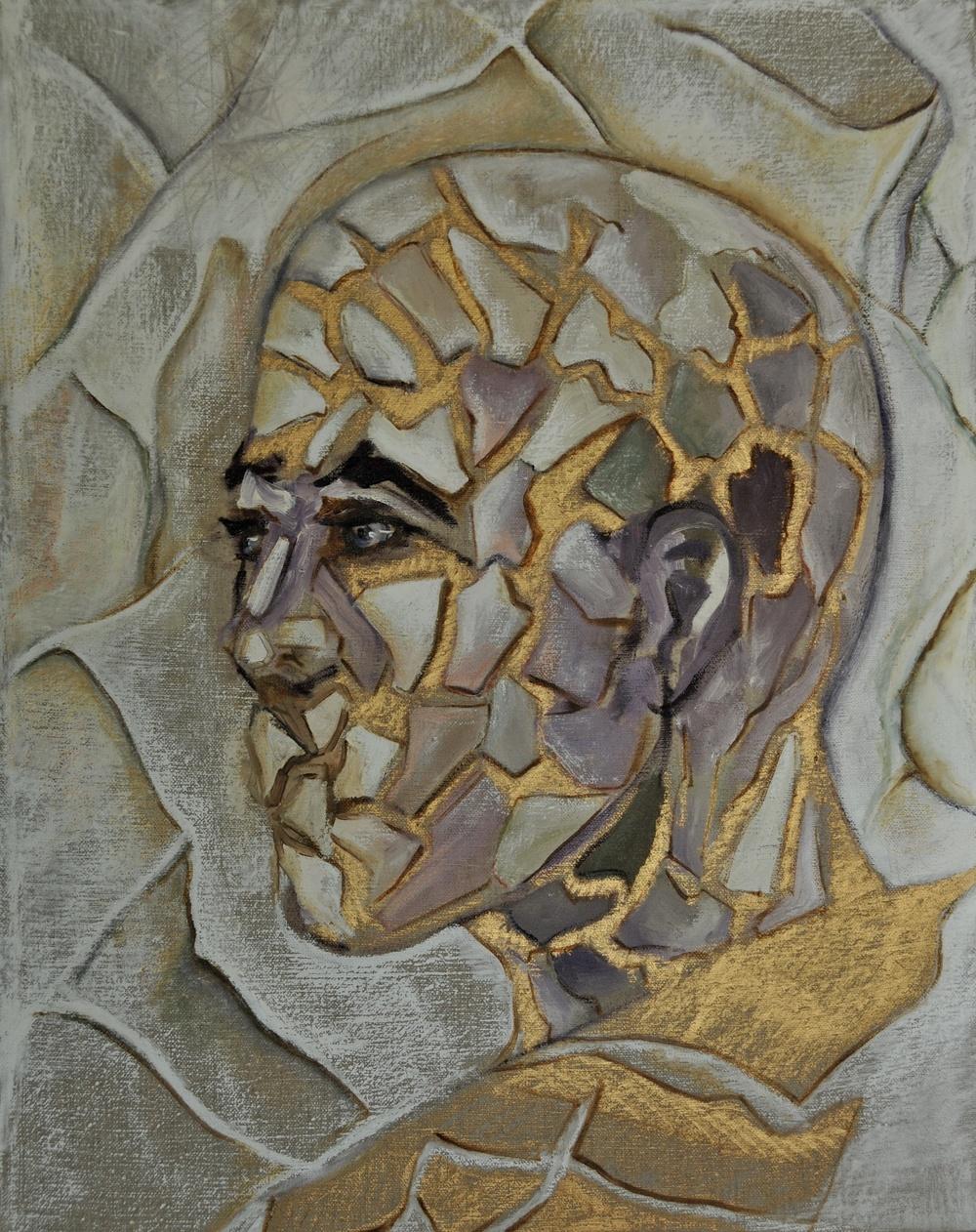 Head II Oil on Linen 50 x 40 cm 2012