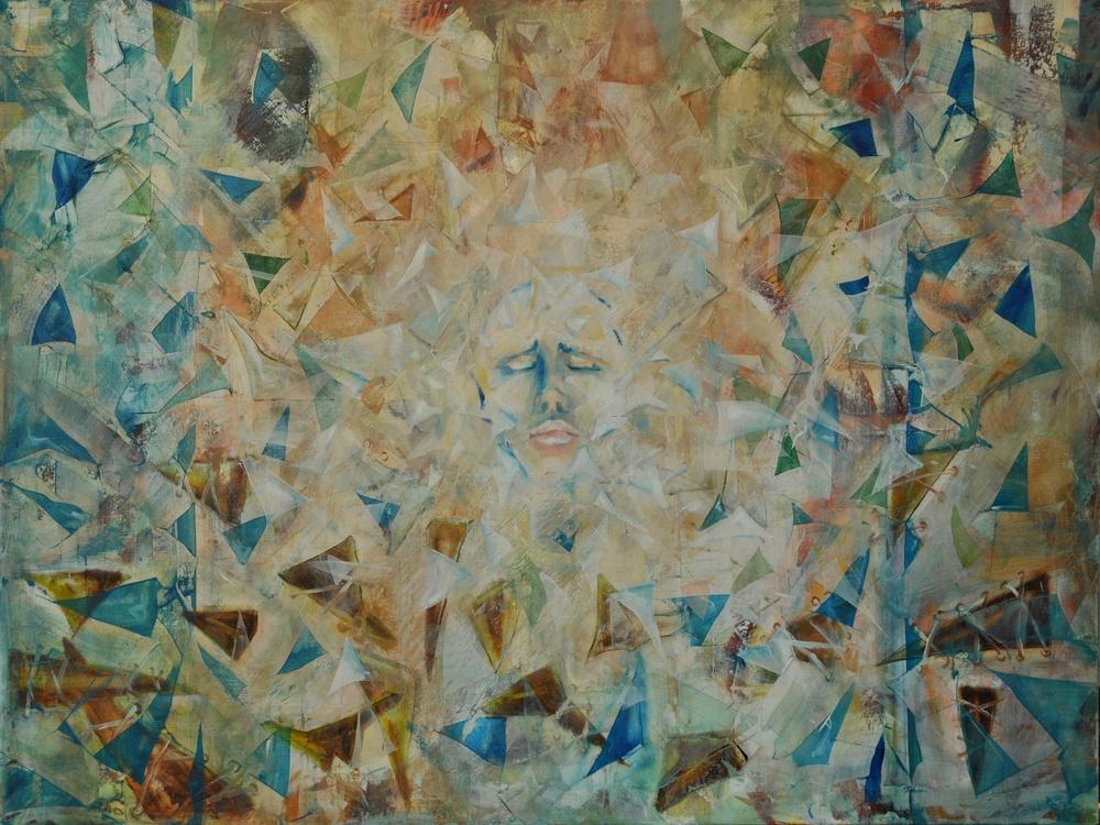 Fragments  Oil on canvas 120 x 80  2011