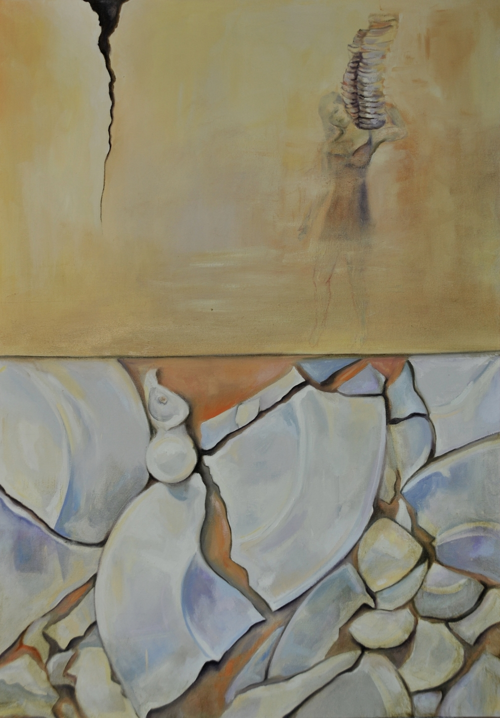 Deponía  /Oil on Canvas 100x 70 cm  2012