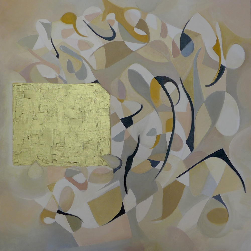 New Society  Oil on Canvas 100 x 100 cm  2015
