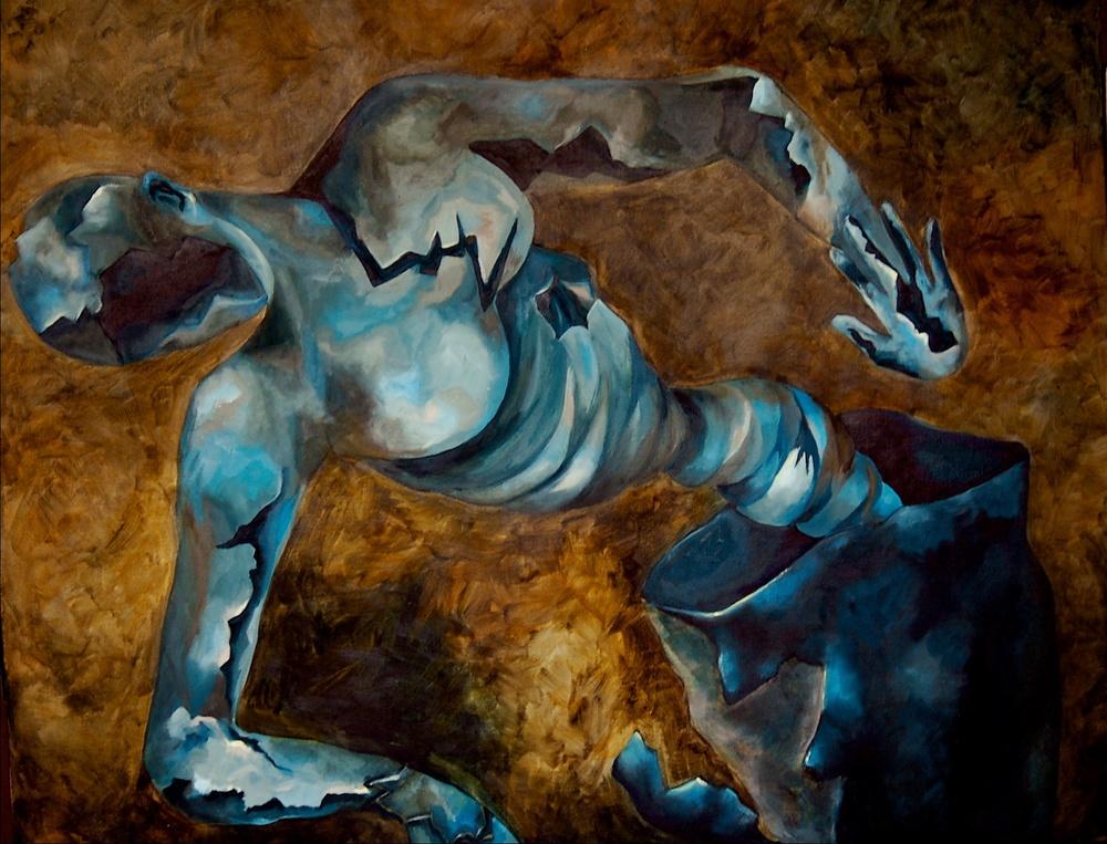 Chaos  /Oil on Canvas 120 x 90 cm  2005