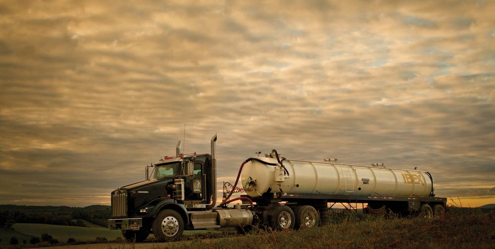 Ibex water hauler PA