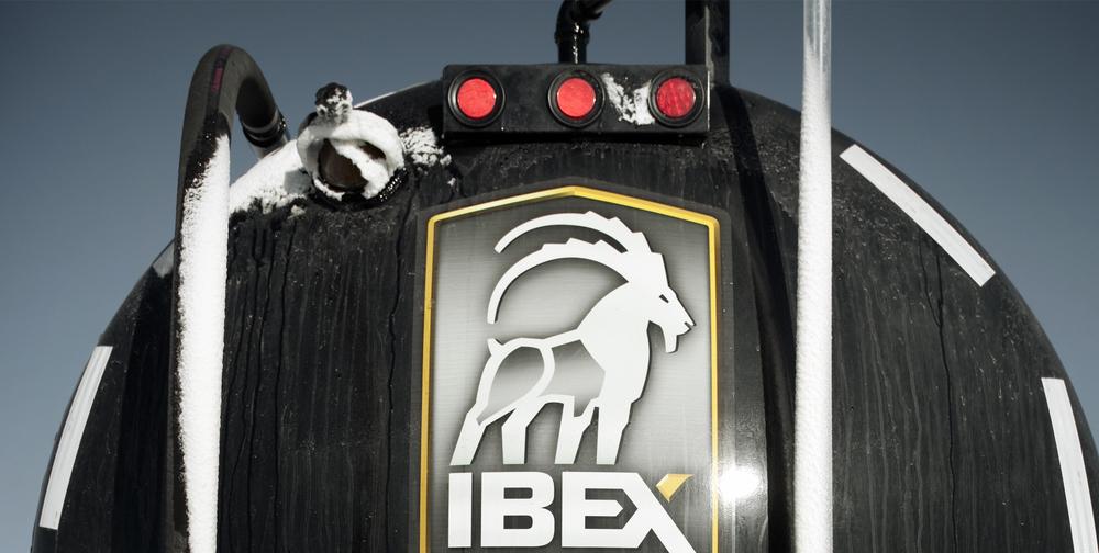 Ibex back of water hauler