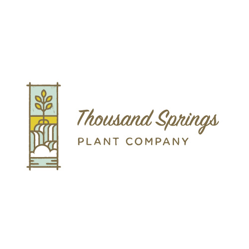 Thousand Springs Plant Logo
