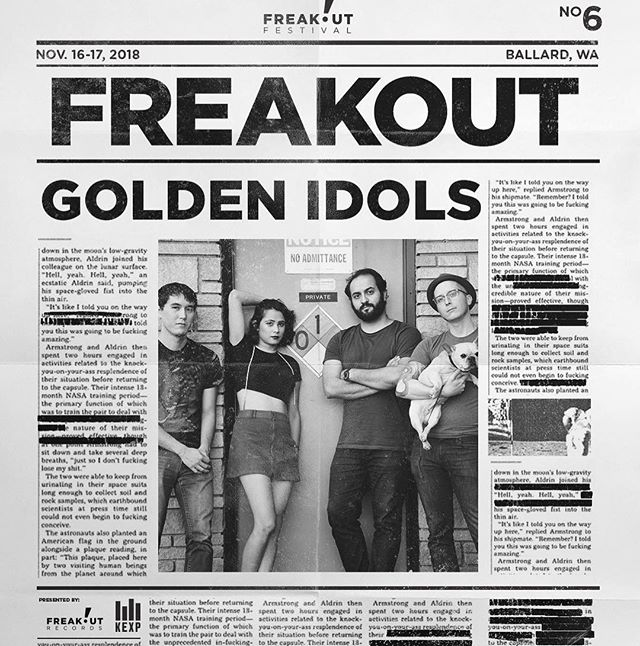 Very excited to announce we will be playing #freakoutfest this year! But if you can't wait until November, come see us at @thesunsettavern this Sunday opening up for @gringostarmusic!