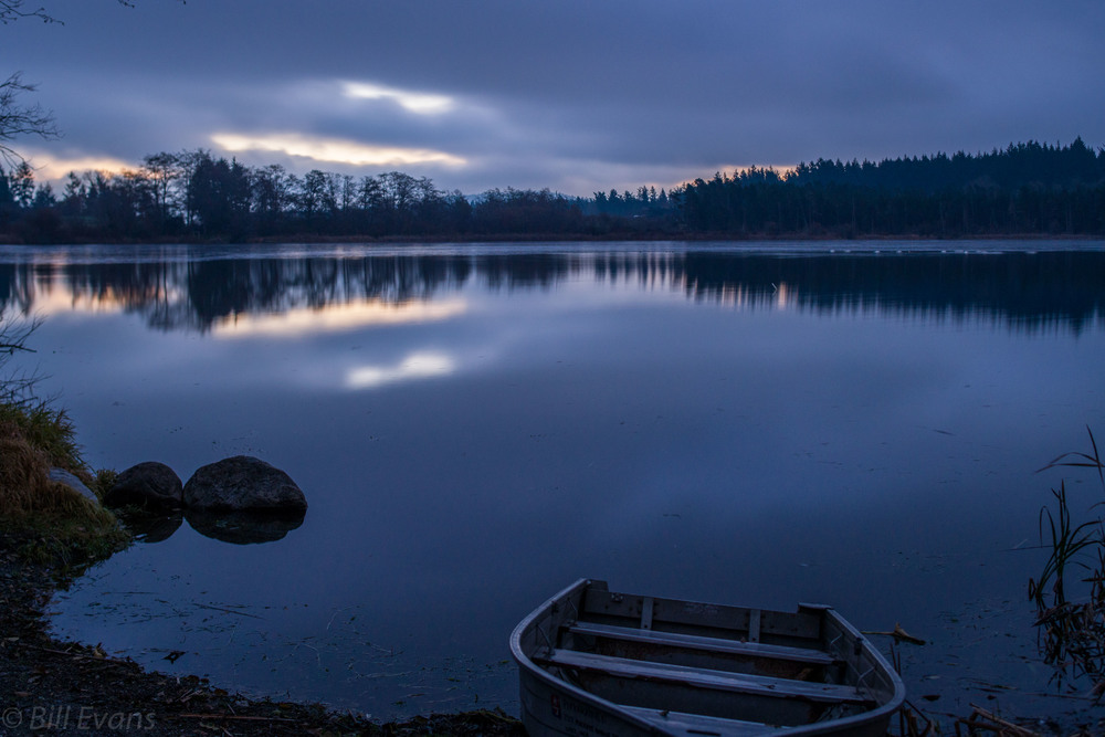 Lopez Island Humel Lake Sunrise