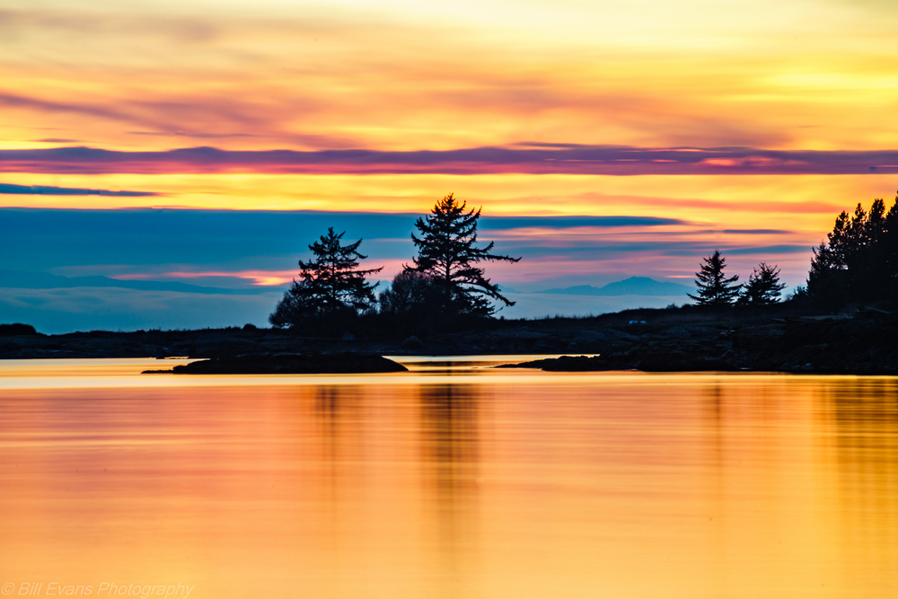 Davis Bay Sunset, Lopez Island, WA (6 January 2016) Sony A7Rii + 100-300mm @ 300mm 30s @ f/? iso 100