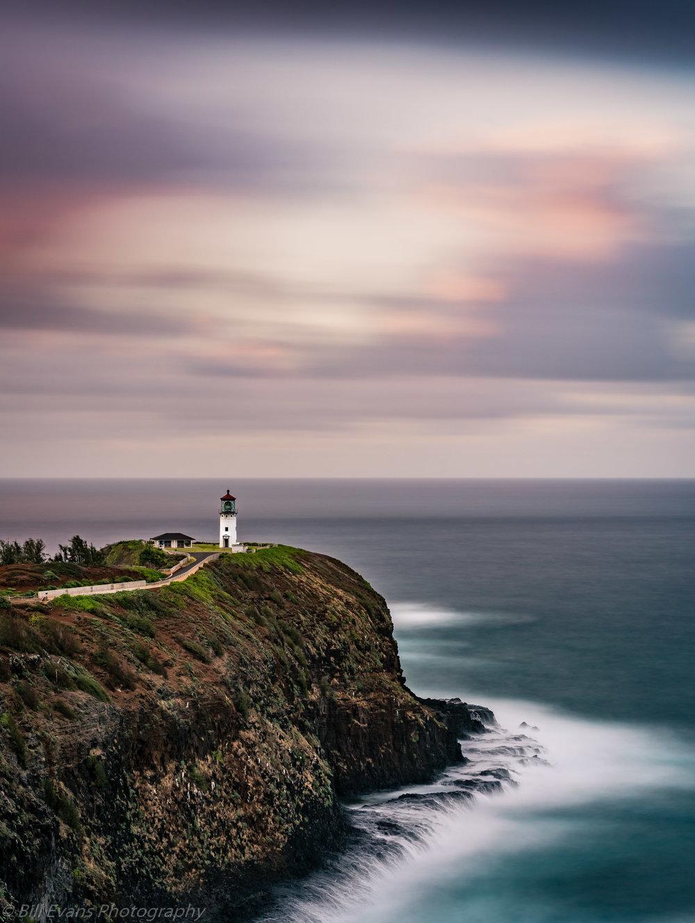 Image No. 4 - Kilauea Lighthouse (Kauai, Hawaii)   Sony A7Rii + Sony FE 55mm Reflex (132s @ f/11 iso 100)