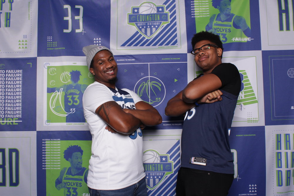 Minneapolis photo booth rentals VIP NBA