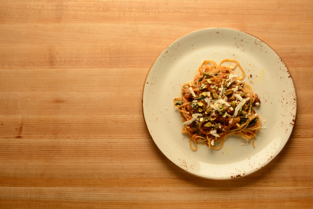 Spaghetti & Merguez.JPG