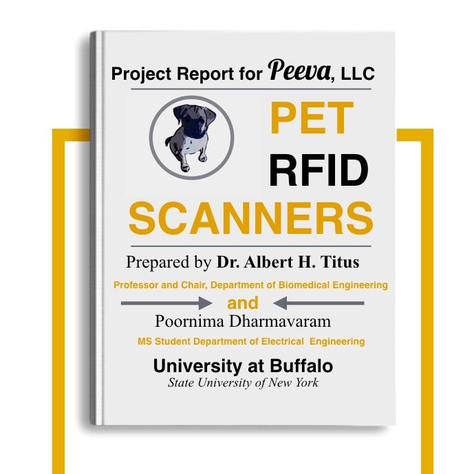 Pet microchip scanners and limitations/ Root Cause Analysis. Project report for Peeva, LLC University at Buffalo (UB) 2015