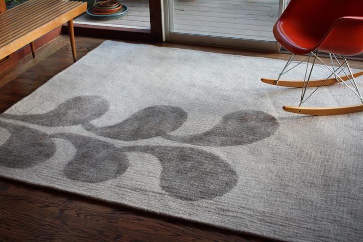 Spill rug